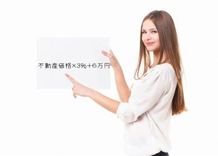 不動産仲介手数料の簡単な計算式