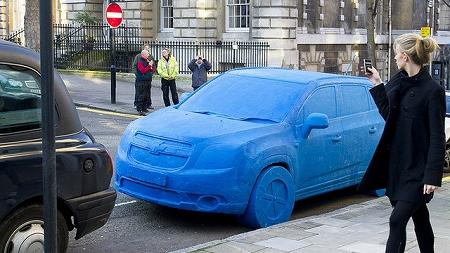 住宅ローンで購入した新車のイメージ画像